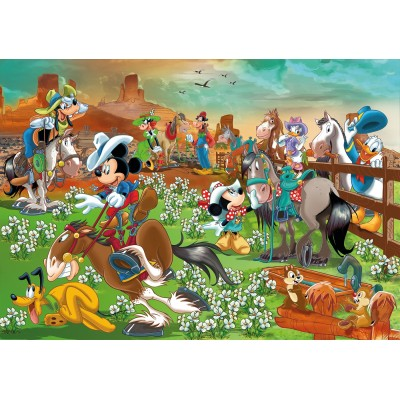 PUZZLE 104 PZAS MAXI MICKEY AND FRIENDS - CLEMENTONI 23759