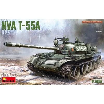 CARRO DE COMBATE T-55 A (Republica Democratica Alemana) -Escala 1/35- MiniArt 37083