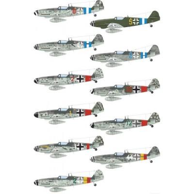 """MESSERSCHMITT Bf-109 G """"WILDE SAU 2"""" -Escala 1/48- Eduard 11148"""
