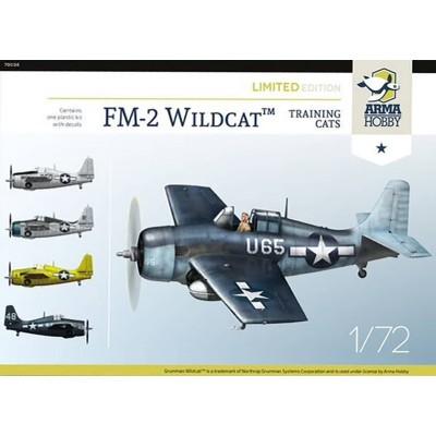 """GENERAL MOTORS FM-2 WILDCAT """"Training Cats"""" -Escala 1/72- Arma Hobby 70034"""