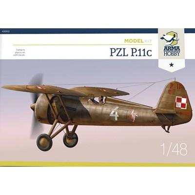 PZL P.11C -Escala 1/48- Arma Hobby 40002