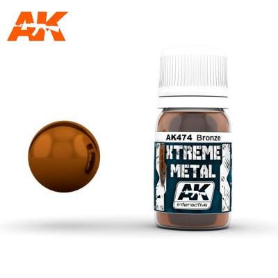 XTREME METAL METALLIC BRONZE 30 ml - AK 474