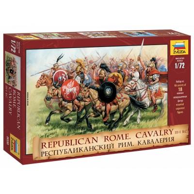 CABALLERIA REPUBLICA ROMANA (Siglo III - I A.C.) -Escala 1/72- Zvezda 8038