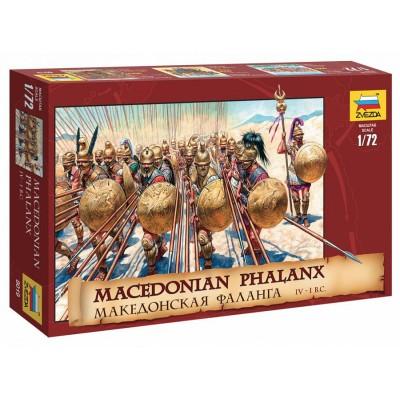 FALANGE MACEDONIA (Siglo IV - I A.C.) -Escala 1/72- Zvezda 8019