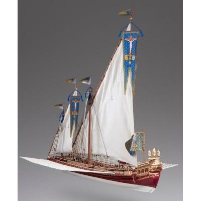 GALERA LA REAL (FRANCIA) -Escala 1/72- DUSEK SHIP KIT D015