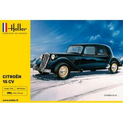 CITROËN 15 CV -Escala 1/24- Heller 80763