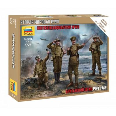 CUARTEL GENERAL BRITANICO 1939-1945 -Escala 1/72- Zvezda 6174