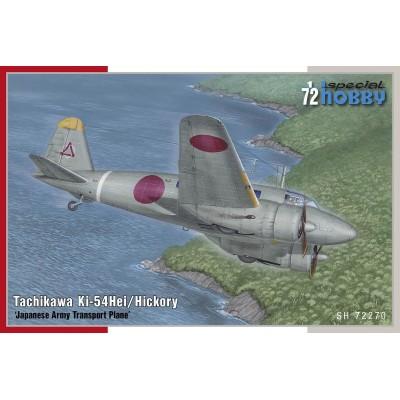 TACHIKAWA Ki-54 HEI HICKORY -Escala 1/72- Special Hobby SH72270