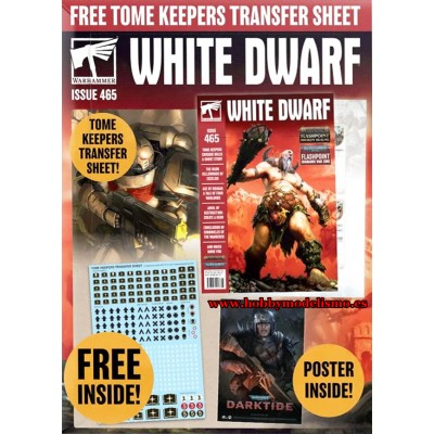 REVISTA WHITE DWARF Nº 465 - Games Worshop 465