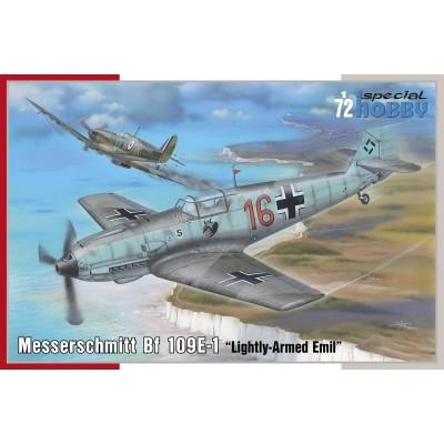 MESSERSCHMITT Bf-109 E1 -Escala 1/72- Special Hobby SH72454