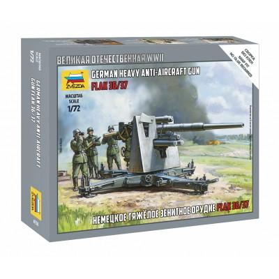 CAÑON ANTIAEREO FLAK 36/37 (88 mm) -Escala 1/72- Zvezda 6158