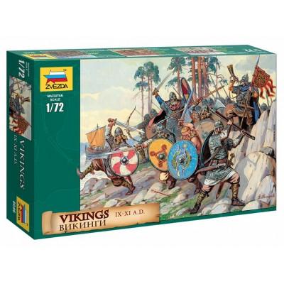 GUERREROS VIKINGOS -Escala 1/72- Zvezda 8046