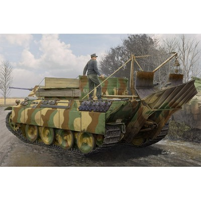 CARRO DE RECUPERACION Sd.Kfz. 179 Ausf. G Bergepanther -Escala 1/35- Hobby Boss 84553