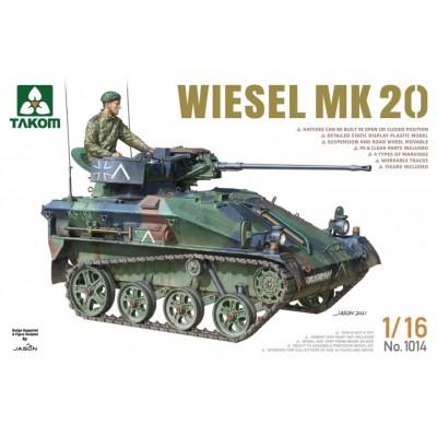 CARRO DE COMBATE WIESEL Mk.20 -Escala 1/16- Takom 1014