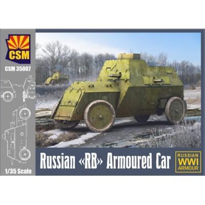 COCHE BLINDADO RB (Rusia) -Escala 1/35- Copper State Models CSM 35007