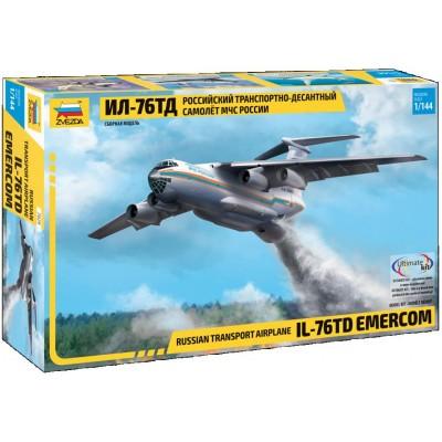 ILYUSHIN IL-76 TD EMERCOM -Escala 1/144- Zvezda 7029