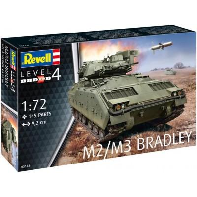 VEHICULO DE COMBATE DE CABALLERIA M-2 / M-3 BRADLEY -Escala 1/72- Revell 03143