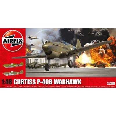 CURTISS P-40 B WARWAWK - Airfix A05130