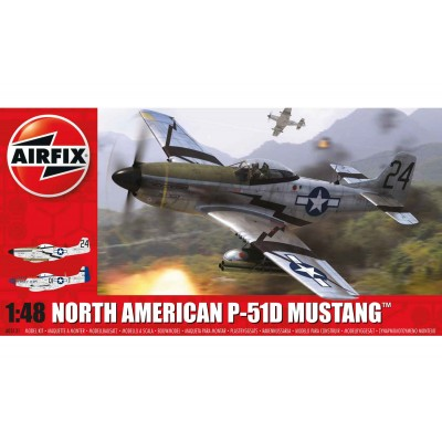 NORTH AMERICAN P-51 D MUSTANG - Airfix A05131