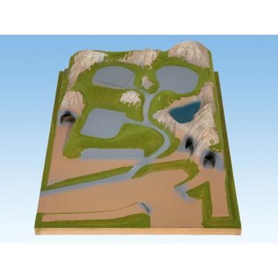 TOPORAMA: EXTENSION LATERAL DERECHO (690 x 1000 x 210 mm) -Escala 1/160 - N- Noch 84320