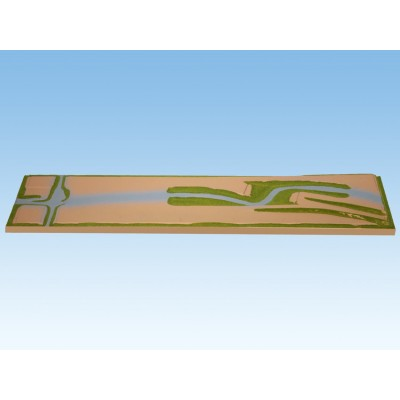 TOPORAMA: EXTENSION FRONTAL (1400 x 310 mm) -Escala 1/160 - N- Noch 84340