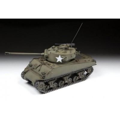 CARRO DE COMBATE M-4 A3 SHERMAN (76 mm) -Escala 1/35- Zvezda 3676