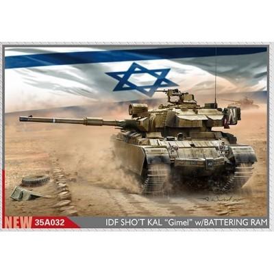 CARRO DE COMBATE CENTURION Shot Kal Gimel (Battering Ram) IDF -Escala 1/35- Amusing Hobby 35A032