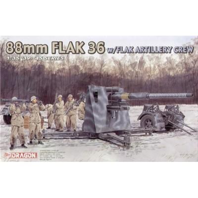 CAÑON FLAK 36 (88 mm) & DOTACION -Escala 1/35- Dragon Models 6260