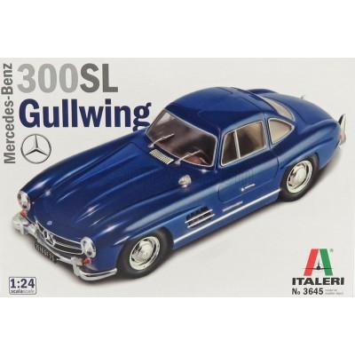 "MERCEDES BENZ 300 SL ""Gullwing"" -Escala 1/24- Italeri 3645"