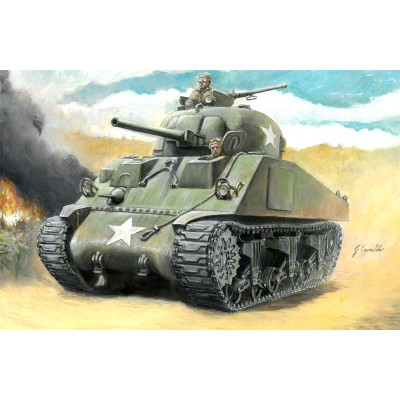 CARRO DE COMBATE M-4 SHERMAN -Escala 1/56- Italeri 15751