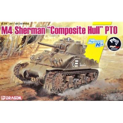"CARRO DE COMBATE M-4 SHERMAN ""Composite Hull"" -Escala 1/35- Dragon Models 6740"