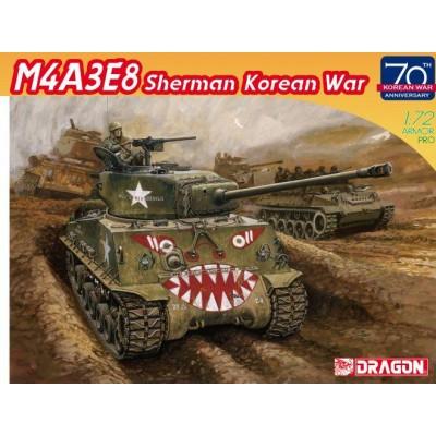 """CARRO DE COMBATE M-4 A3E8 SHERMAN """"Easy Eight"""" KOREAN WAR -Escala 1/72- Dragon Models 7570"""