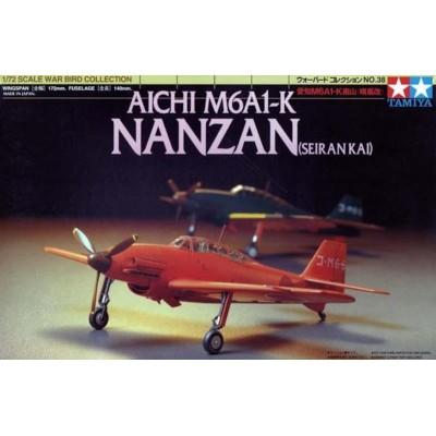 AICHI M6A1-K NANZAN -Escala 1/72- Tamiya 60738