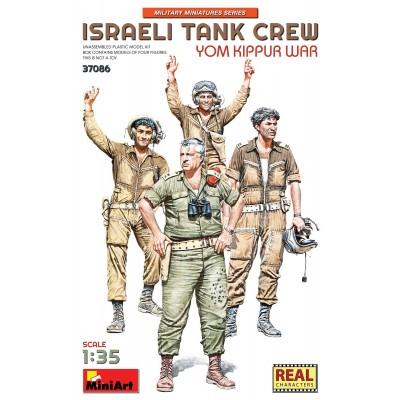 "TRIPULANTES DE CARROS ISRAELIES ""Yom Kippur"" -Escala 1/35- MiniArt Model 37086"