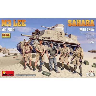 "CARRO DE COMBATE M-3 LEE ""SAHARA"" -Escala 1/35- MiniArt Model 35274"