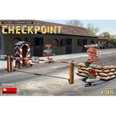 CHECKPOINT -Escala 1/35- MiniArt Model 35562