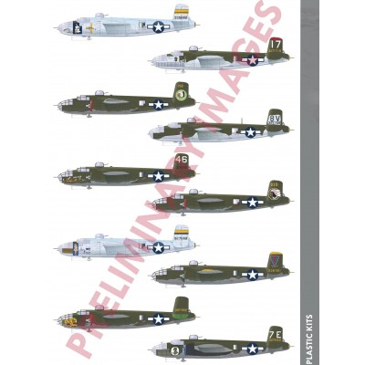 NORTH AMERICAN B-25 J MITCHELL -Escala 1/72- Eduard 2140
