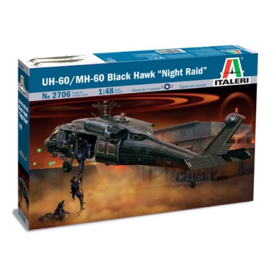 SIKORSKY UH-60 / MH-60 BLACK HAWK -Escala 1/48- Italeri 2706