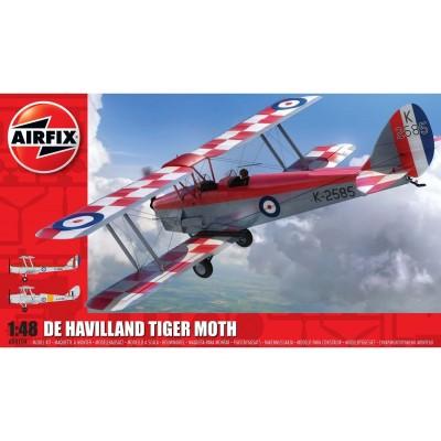 de HAVILLAND D.H. 82a TIGER MOTH -Escala 1/48- Airfix A04104