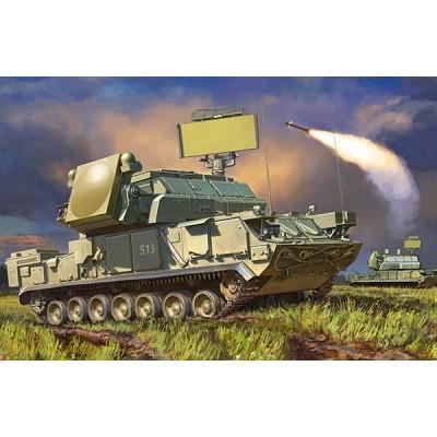 """SISTEMA DE MISILES ANTIAEREO TOR-M2/SA-15 """"Gauntlet"""" -Escala 1/35- Zvezda 3633"""