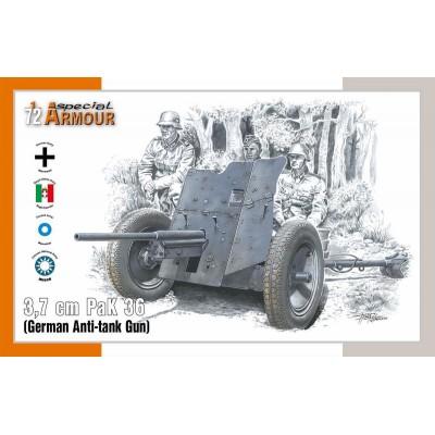 CAÑON ANTICARRO PAK-36 (37 mm) -Escala 1/72- Special Armour SA72024