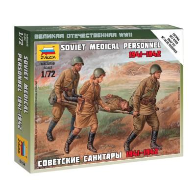 TROPAS MEDICAS SOVIETICAS 1941 - 1942 -Escala 1/72- Zvezda 6152