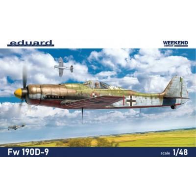 FOCKE-WULF Fw-190 D9 (Weekend) -Escala 1/48- Eduard 84102