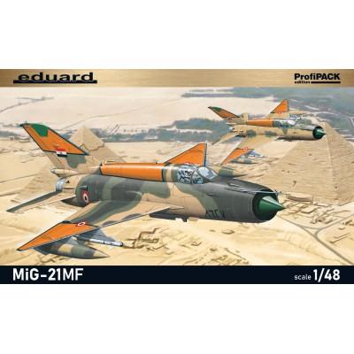 """MIKOYAN GUREVICH MIG-21 MF """"Egipto"""" (Profipack) -Escala 1/48- Eduard 8231"""