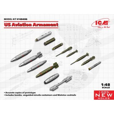 ARMAMENTO AVIACION U.S.A. -Escala 1/48- ICM 48406