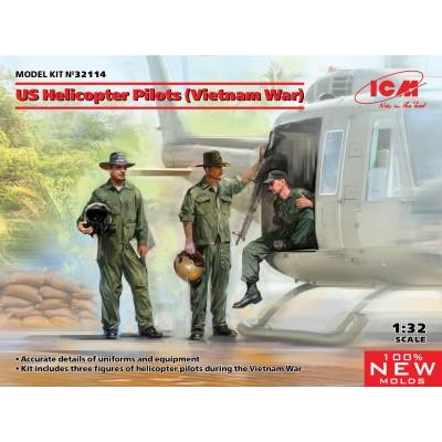 PILOTOS HELICOPTERO U.S. VIETNAM -Escala 1/48- ICM 32114