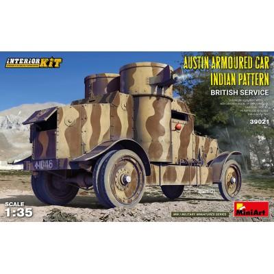 "COCHE BLINDADO AUSTIN ARMOURED CAR ""INDIAN PATTERN"" -Escala 1/35- MiniArt 39021"