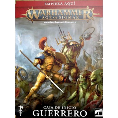 AGE OF SIGMAR: GUERRERO -Games Workshop 80-15