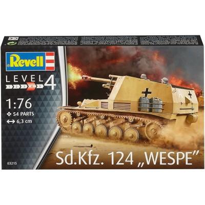 OBUS AUTOPROPULSADO Sd.Kfz.124 WESPE -Escala 1/76- Revell 03215