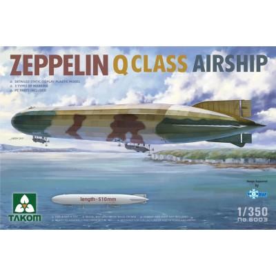DIRIGIBLE ZEPPELIN Q CLASS -Escala 1/350- Takom 6003